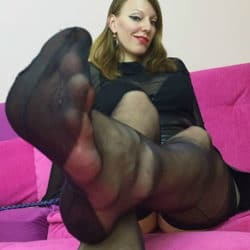 nylon lady